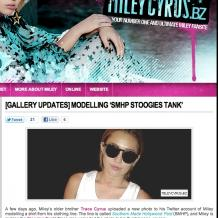 Miley Cyrus Brazil Official Site