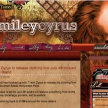 Official Miley Cyrus Site